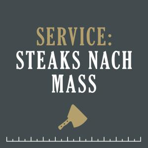 Steaks-nach-Mass