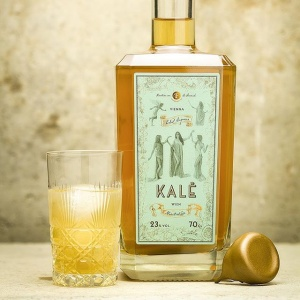 Flasche-Kale