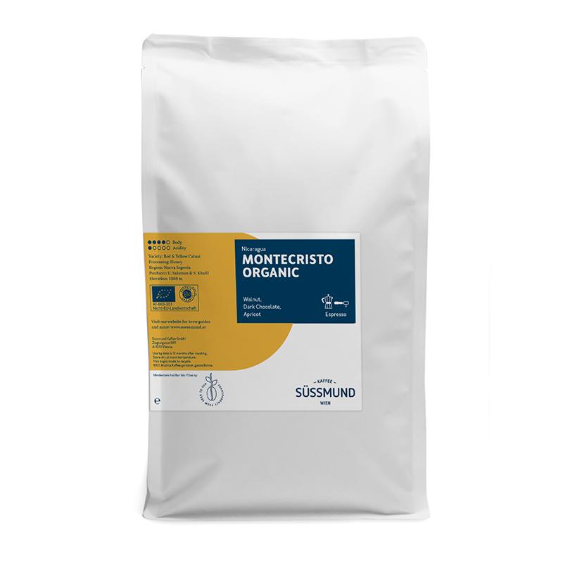 Süssmund Bio-Kaffee Montecristo