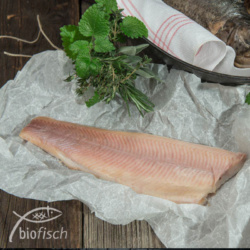 geräucherter Bio-Fisch