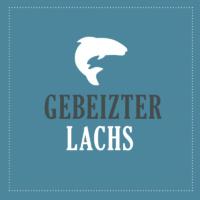 Gebeizter Lachs