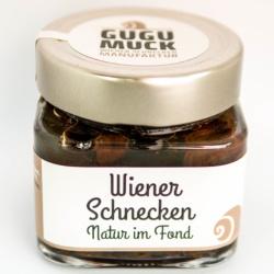 Wiener Schnecken Natur im Fond von Gugumuck