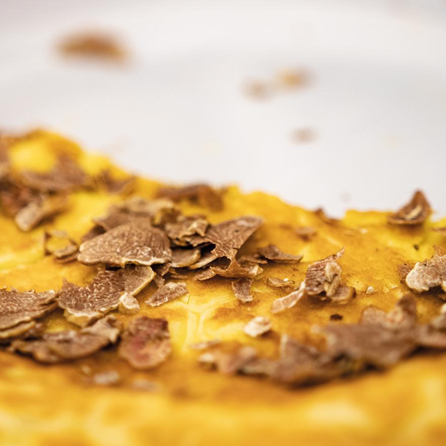 Frittata la tartufo