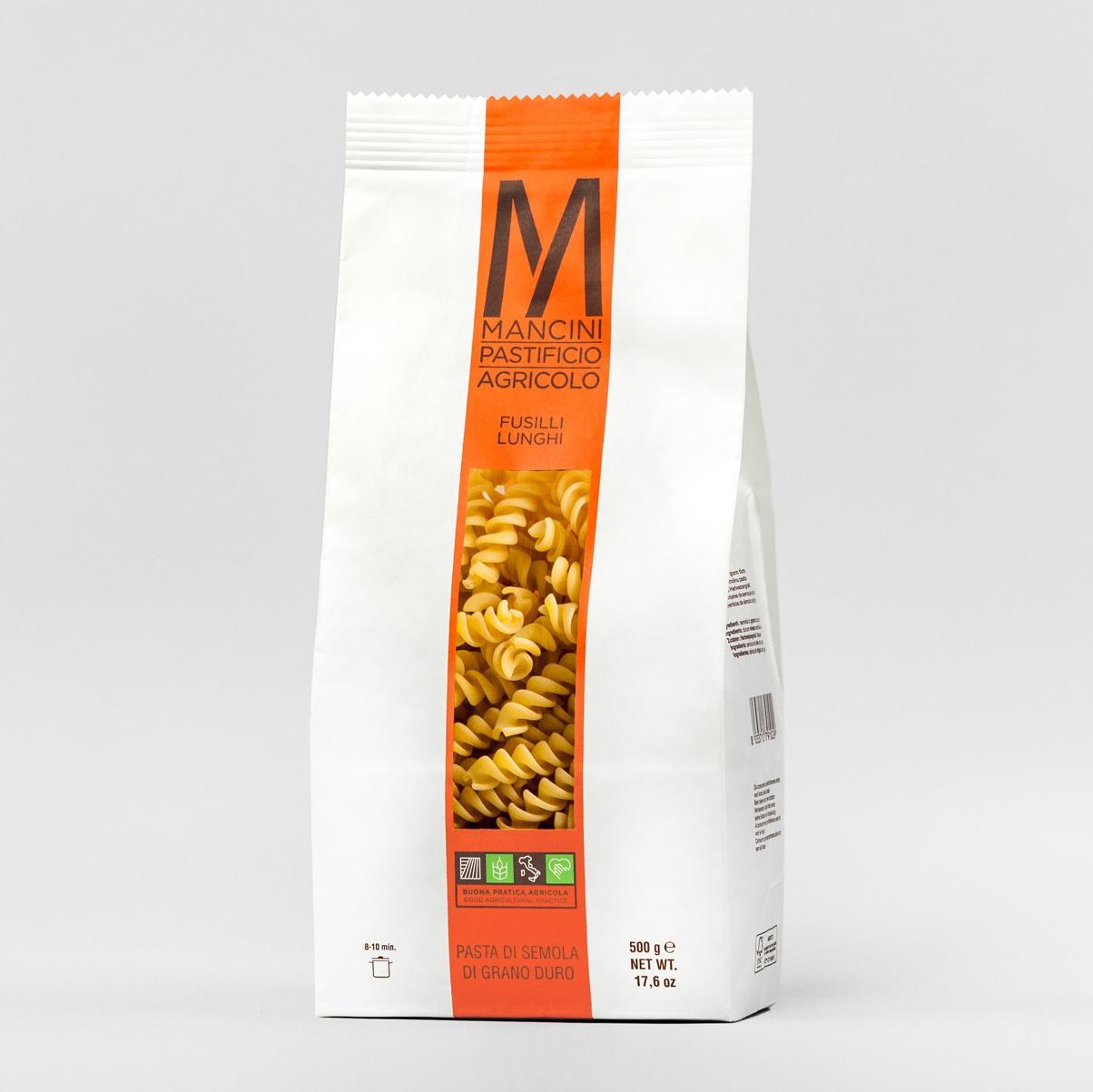 Pasta Fusili lunghi von Mancini