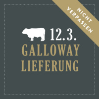 Galloway-Termin am 12.3