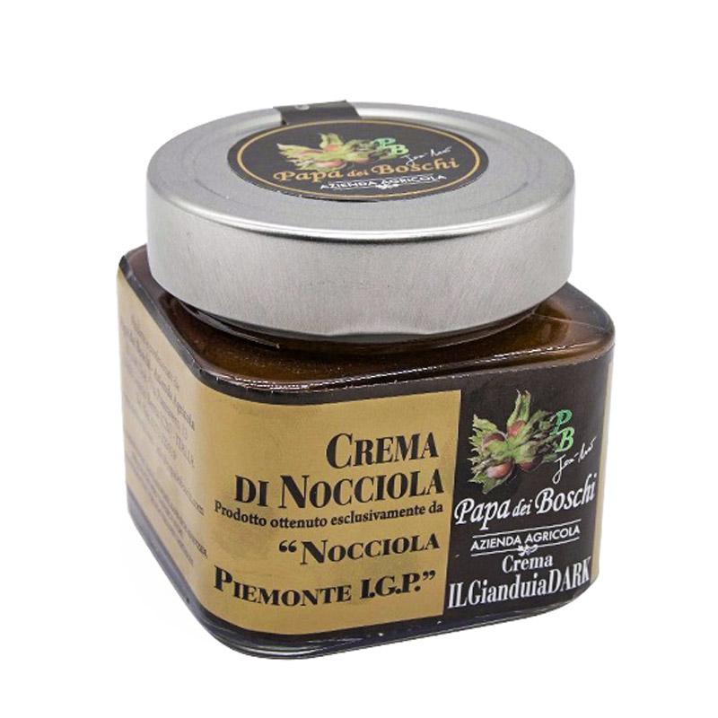 crema di nocciola piemonte i.g.p dark von papa dei boschi